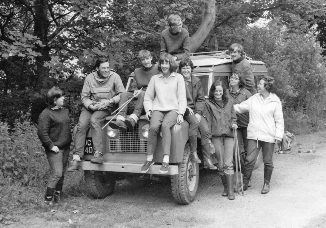 On a field course from Reading University held in North Wales (1966)